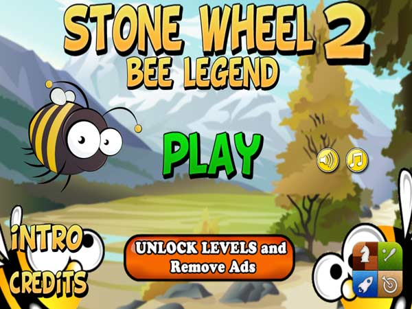 Stone Wheel Bee Legend HD disponible en la AppStore