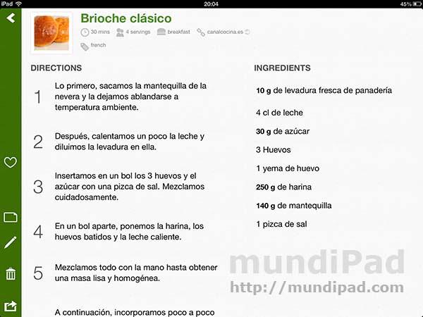 Basil la app de recetas que convertir tu ipad en un - Test pinche de cocina ...