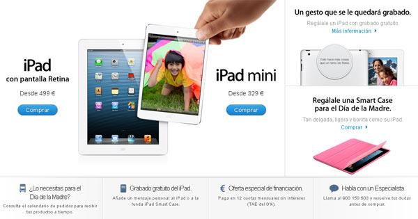 un iPad para el día de la madre