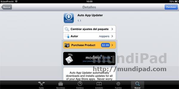 Actualiza juegos y apps automáticamente con Auto App Updater