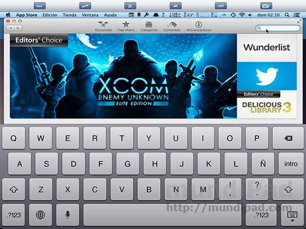 Escribir en un Mac de forma remota