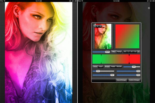 Añade efectos a tus imágenes con Gradients para iPad
