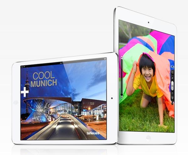 LG podría comenzar a fabricar las pantallas del iPad Mini 2
