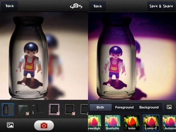 Retoque maravilloso y sencillo de fotografías con PipCamera
