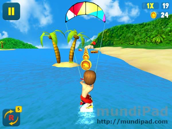 Kite Surfer para el iPad