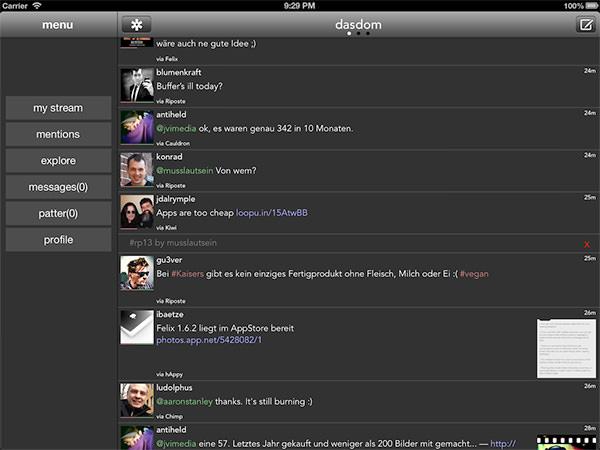 hAppy en el iPad