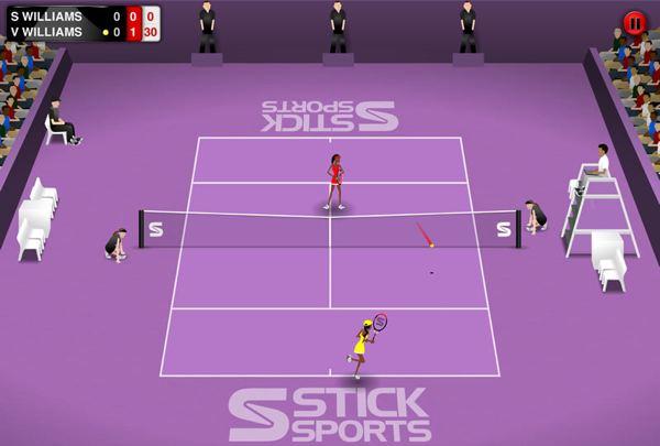 Sé el mejor tenista del mundo con Sticktennis