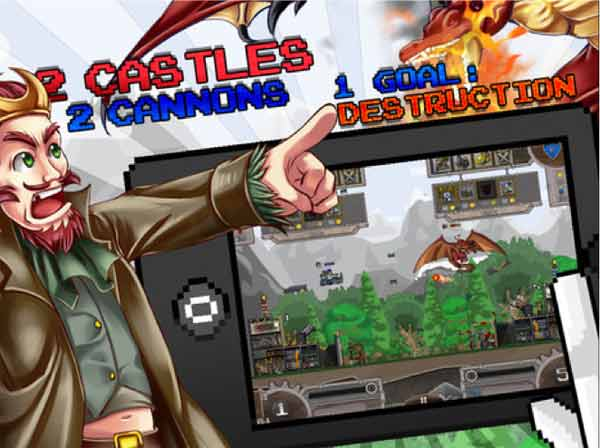 Cannon Crasha para iPad