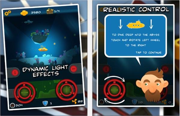 Juego Dive of Treasures para iPad