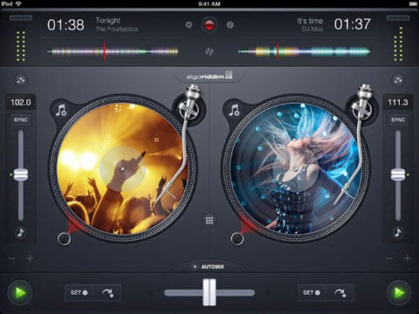 djay 2 de Algoriddim ya está disponible para iPad