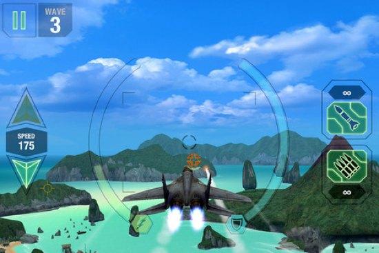 Combate en las nubes con MetalStorm: Aces
