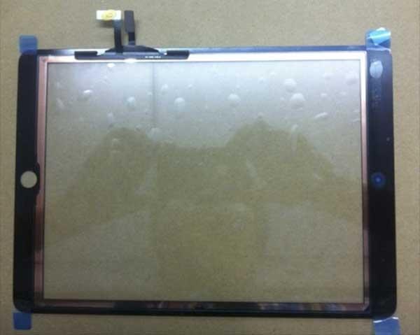 Aparecen fotos y vídeo de la parte frontal del nuevo iPad 5