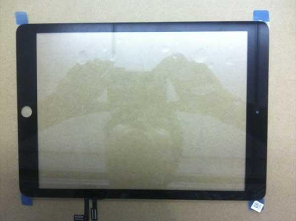 Aparecen fotos de la parte frontal del nuevo iPad 5