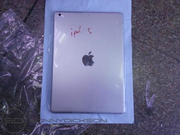 Nueva fotografía de la parte trasera del iPad 5
