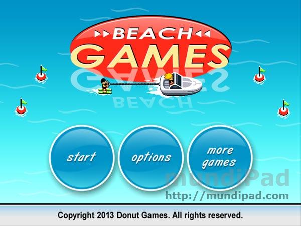 Juego Beach Games para iPad