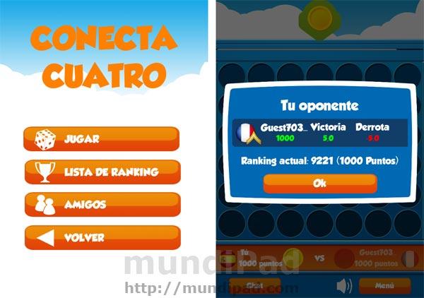 Conecta 4 multijugador para iPad