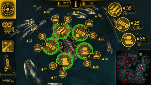 Juego Oil Rush: 3D Naval Strategy para iPad