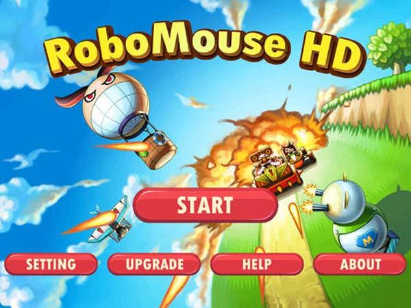 RoboMouse HD para iPad