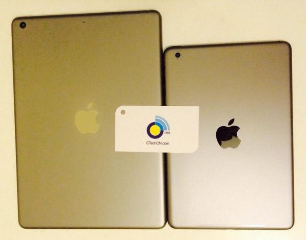 Nuevas imágenes del iPad 5 y del iPad Mini 2 en color dorado