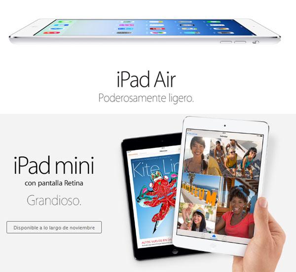 Precios del nuevo iPad