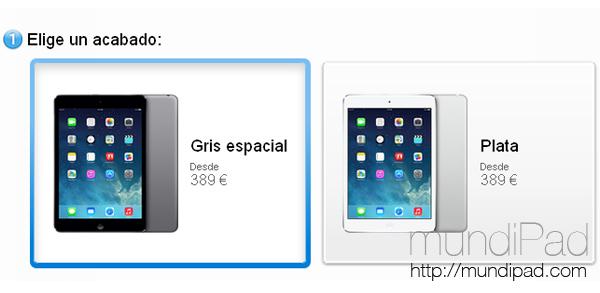 iPad Mini con pantalla de retina