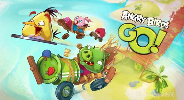 Ya disponible en la AppStore el nuevo juego Angry Birds Go para iPad