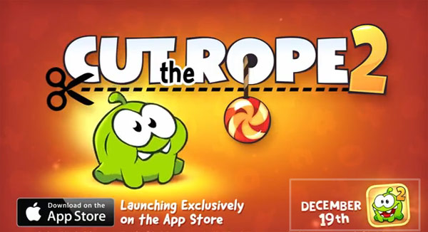 Cut The Rope 2 de ZeptoLab para iPad