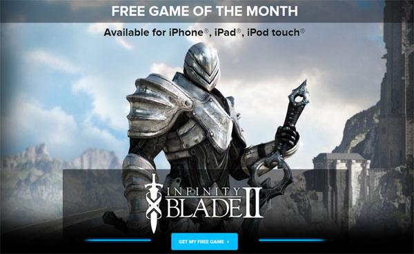 Infinity Blade II es el juego gratuito para iPad que regala IGN a sus lectores