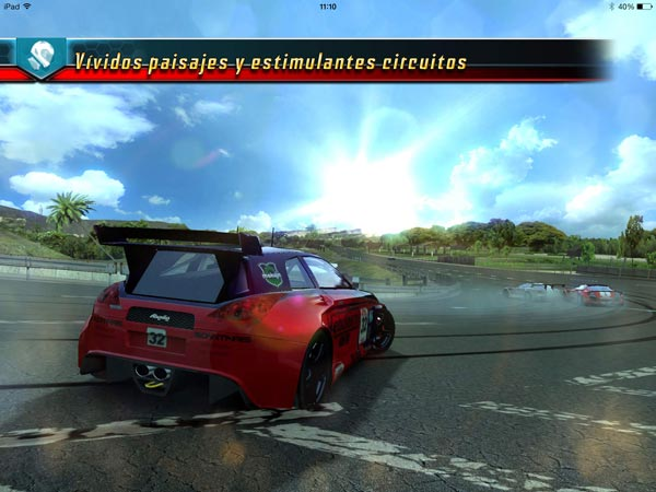 Ridge Racer Slipstream para iPad
