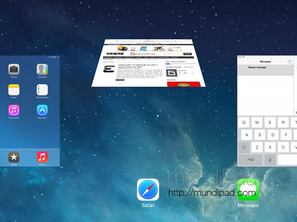 Tweak de Cydia Sicarius para iPad