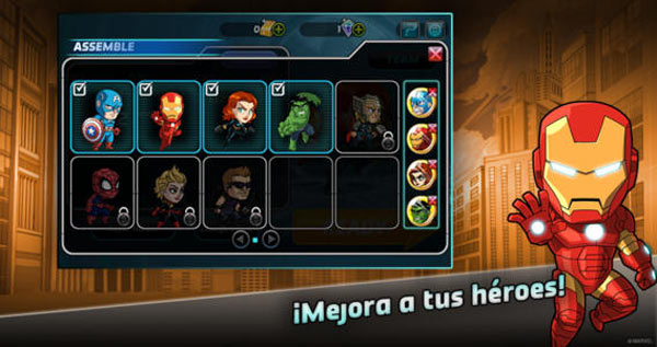 Marvel Run Jump Smash para el iPad