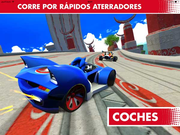 Sonic & All-Stars Racing Transformed para iPad