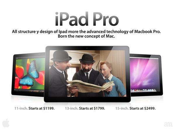 iPad Pro de 12 pulgadas para octubre
