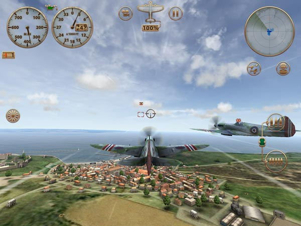 Sky Gamblers Storm Raiders para iPad