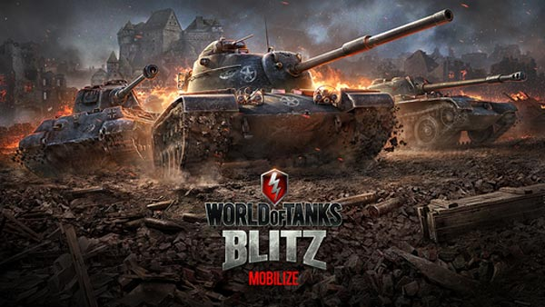 Juego World of Tanks Blitz para iPad