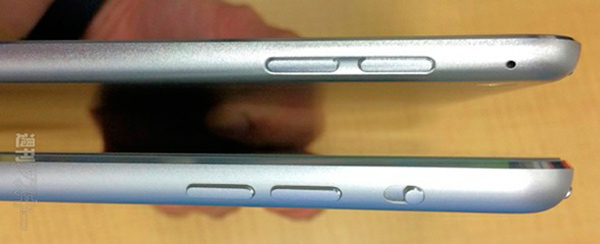 Ubicación botones iPad Air 2