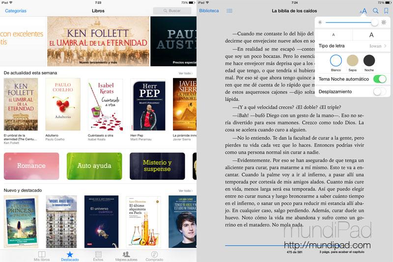 Comparamos los mejores servicios online para leer con el iPad