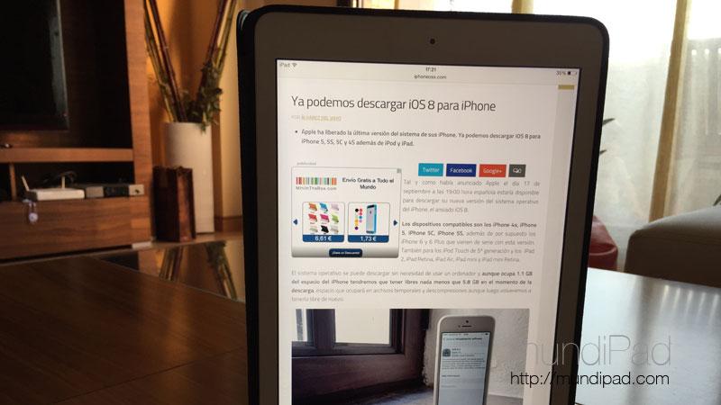 Las mejores apps optimizadas para iOS 8 en iPad