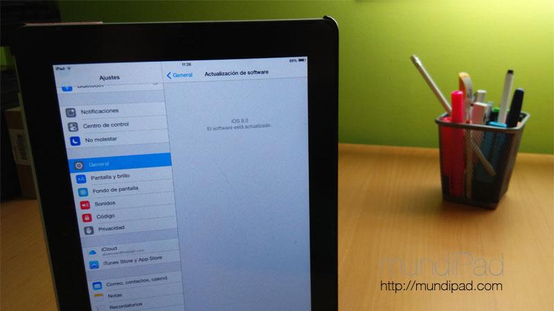 Preguntas y respuestas: ¿conviene actualizar el iPad 2 a iOS 8?