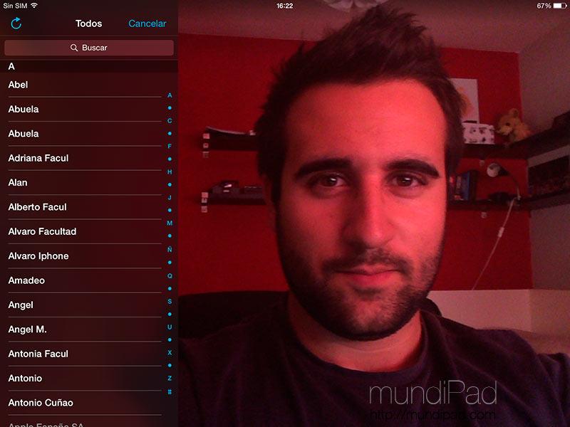 Cómo configurar Facetime en el iPad