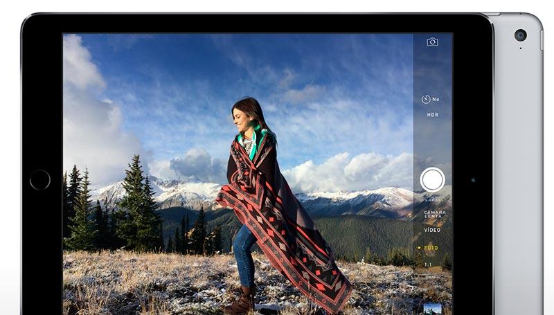 iPad Air 2 camara 800 iPad Air 2: Más fino, más potente y con Touch ID